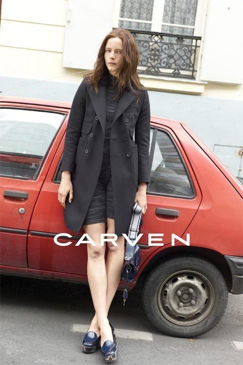Кампания: Carven FW 2011. Изображение № 2.