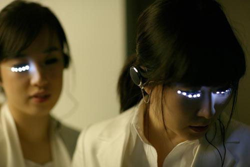 Ресницы с подсветкой от Soomi Park. Изображение № 5.