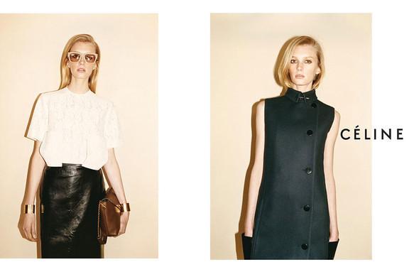 Рекламные кампании: Celine, Calvin Klein, Dolce & Gabbana и другие. Изображение № 5.