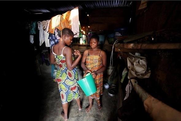 Изображение 12. Рыночные девушки из Ганы.. Изображение № 12.