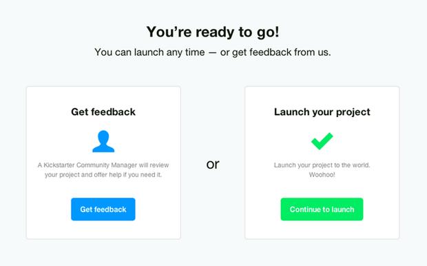 Kickstarter упростил правила запуска кампаний по сбору денег. Изображение № 1.