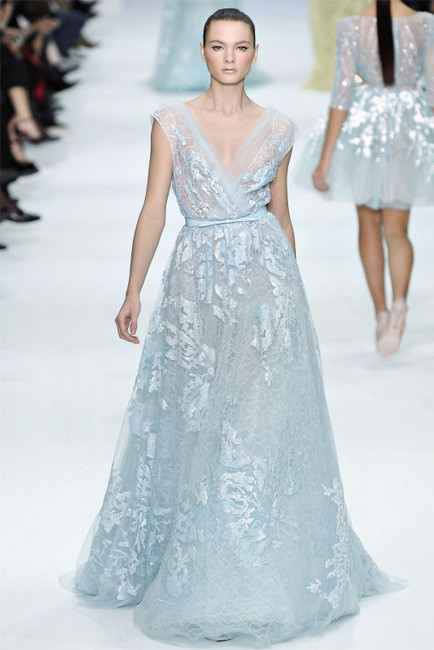 Elie Saab Spring 2012 Couture. Изображение № 14.