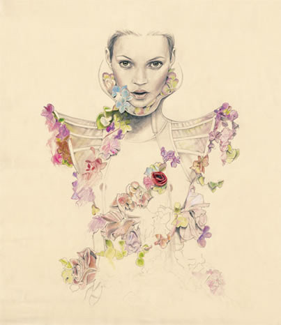 Fashion illustrations by Cedric Rivrian. Изображение № 8.