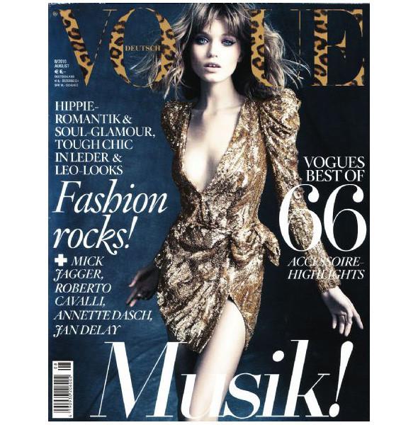 8 новых обложек Vogue. Изображение № 3.