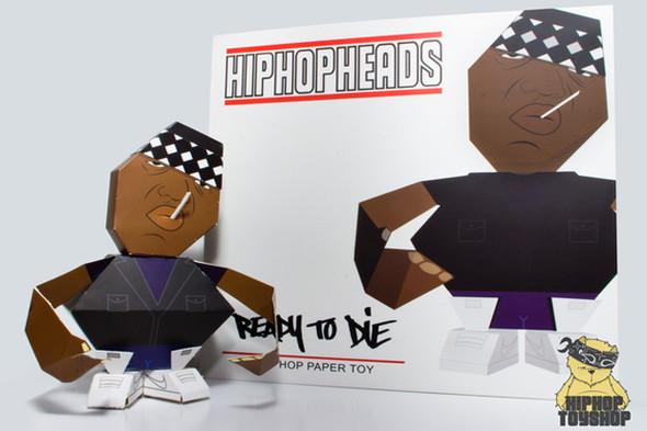 HIPHOPHEADS: Бумажные игрушки. Изображение № 5.