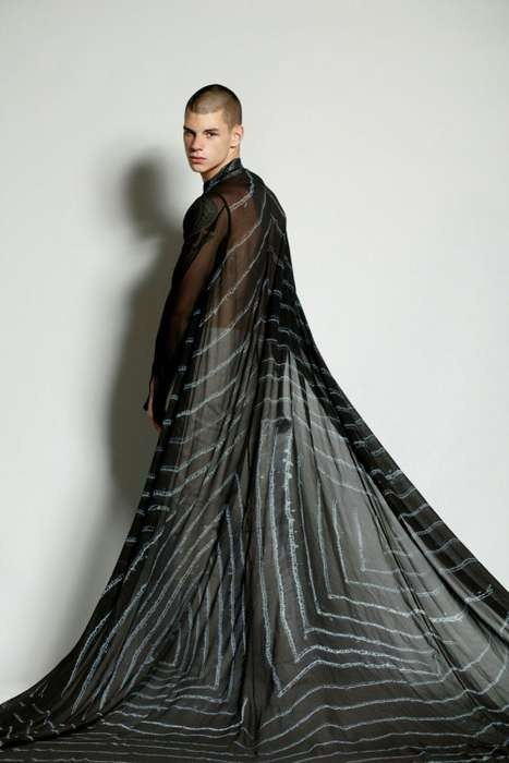 The Asher Levine 2011 Spring/Summer Line is Spine-Chilling. Изображение № 5.