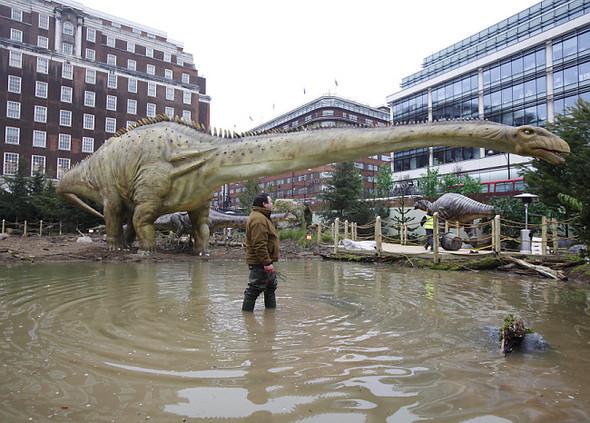 """""""Dinosaurs unleashed"""" или динозавры в Лондоне. Изображение № 7."""