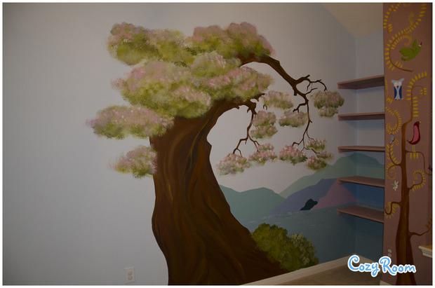 Детская комната по мотивам мультфильма «Рапунцель. Запутанная история». Изображение № 10.