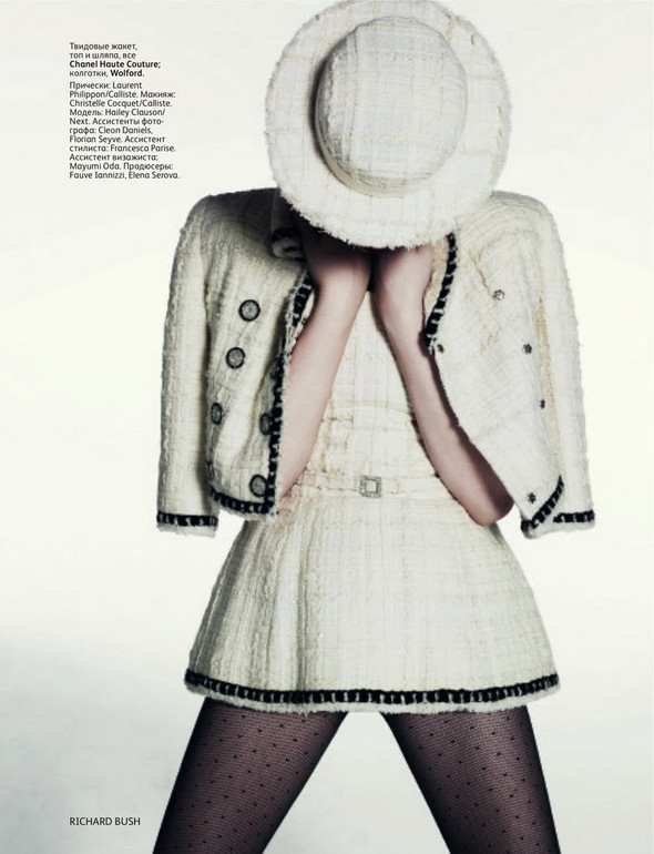 Съёмка: Хейли Клаусон для российского Vogue. Изображение № 6.