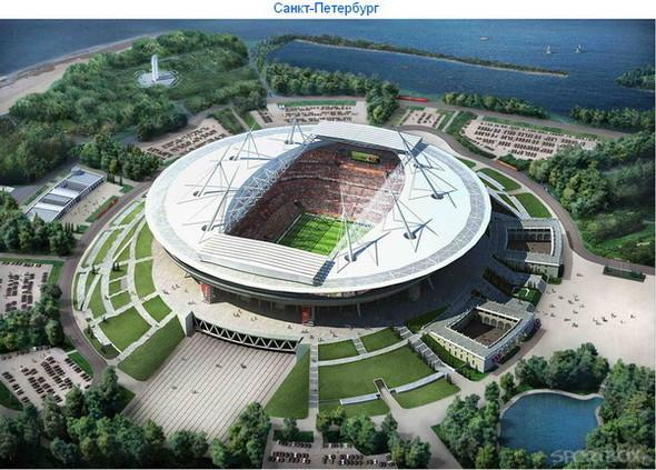 Архитектурные амбиции России для ЧМ по футболу 2018-22. Изображение № 13.