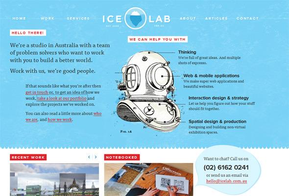 Подборка невероятных сайтов веб-дизайн студий. Изображение № 16.