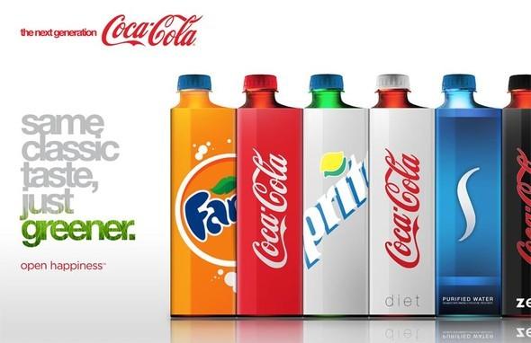 Новая классика. Бутылка Coca-Cola. Изображение № 2.