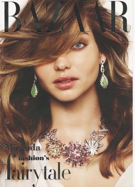 Miranda Kerr forHarpers Bazaar (December, 2009). Изображение № 1.