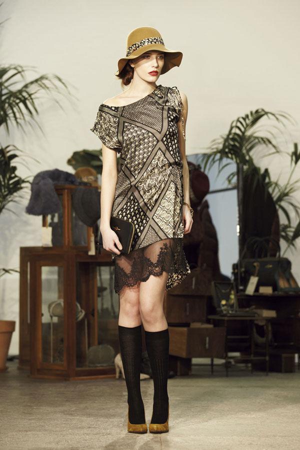 Ретро всегда в моде. Aniye By, осень-зима 2012/13. Изображение № 28.