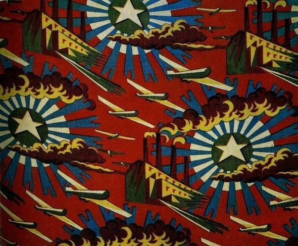 Принты советских тканей 20-30-х годов. Изображение № 2.