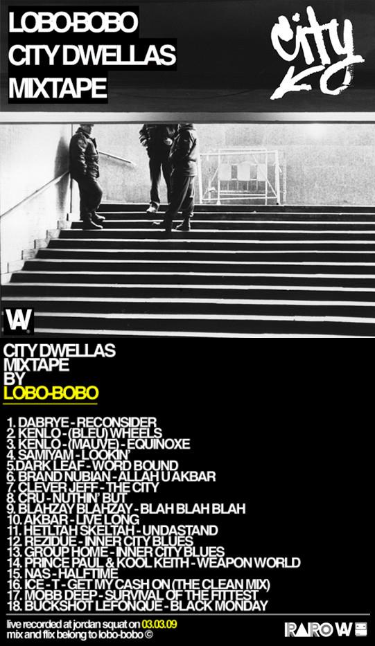 City Dwellas Mixtape byLOBO-BOBO. Изображение № 1.