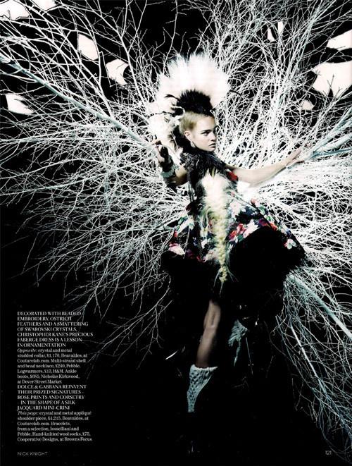 Vogue UK февраль. Изображение № 5.