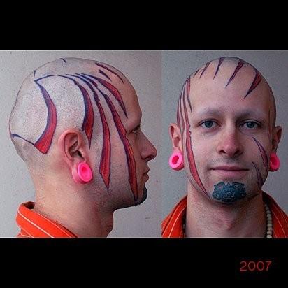 Татуировки в стиле Иннормизма. Изображение № 20.