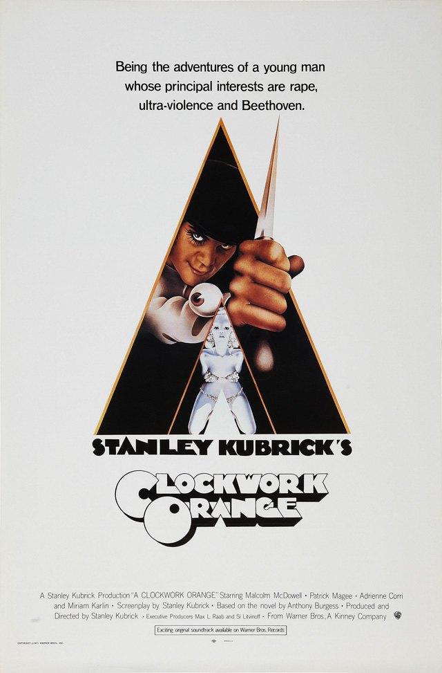 Постер к фильму «Заводной апельсин». Изображение № 20.