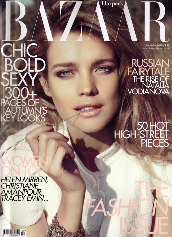 """Harper's Bazaar UK"" September 2009. Изображение № 1."