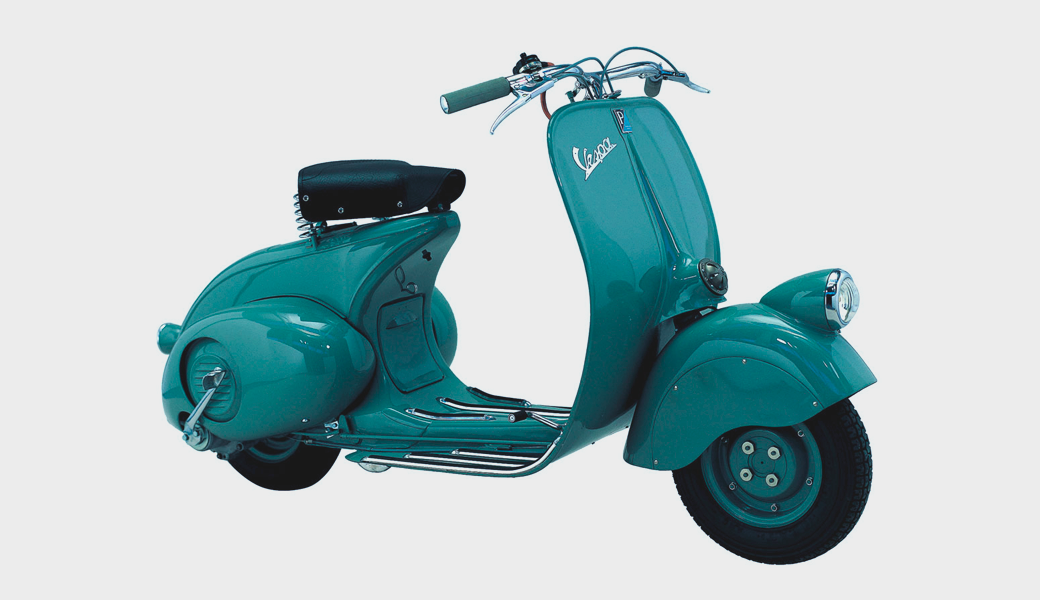 Дизайн-объект: Скутер Vespa, воплощающий итальянский модерн. Изображение № 2.