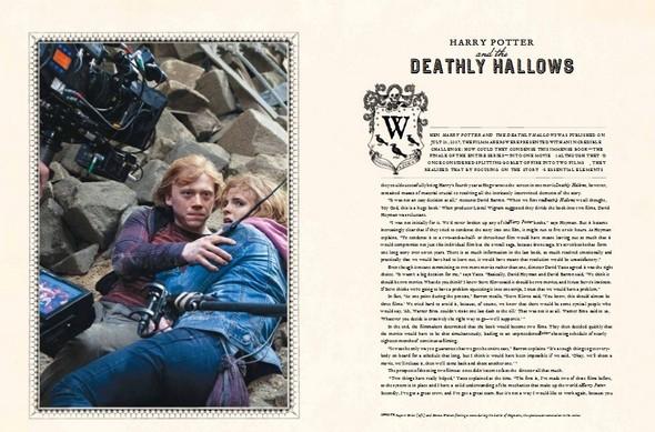 Новая книга Harry Potter: Page to Screen появилась в продаже. Изображение № 10.