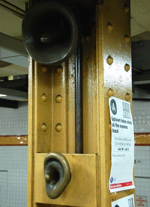 Скульптуры вНью-Йоркском метро. Изображение № 5.
