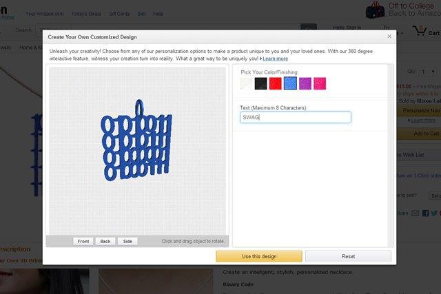 Amazon открыл магазин с распечатанными на принтере «кастомными» аксессуарами. Изображение № 4.