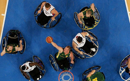 Лучшие фотографии Паралимпийских игр-2008 вПекине. Изображение № 5.
