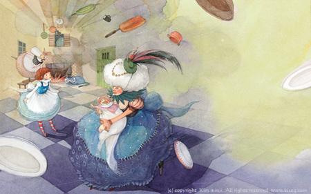 Kimmin ji– акварель видеальном исполнении. Изображение № 11.