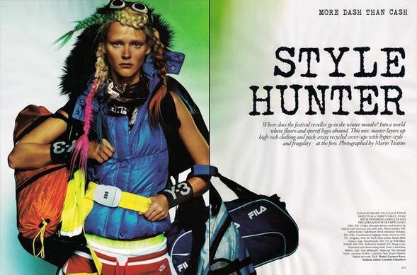 United Colors ofTestino. Vogue UK(November 2009). Изображение № 1.