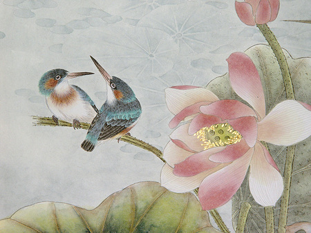 Птицы ицветы. Изображение № 10.