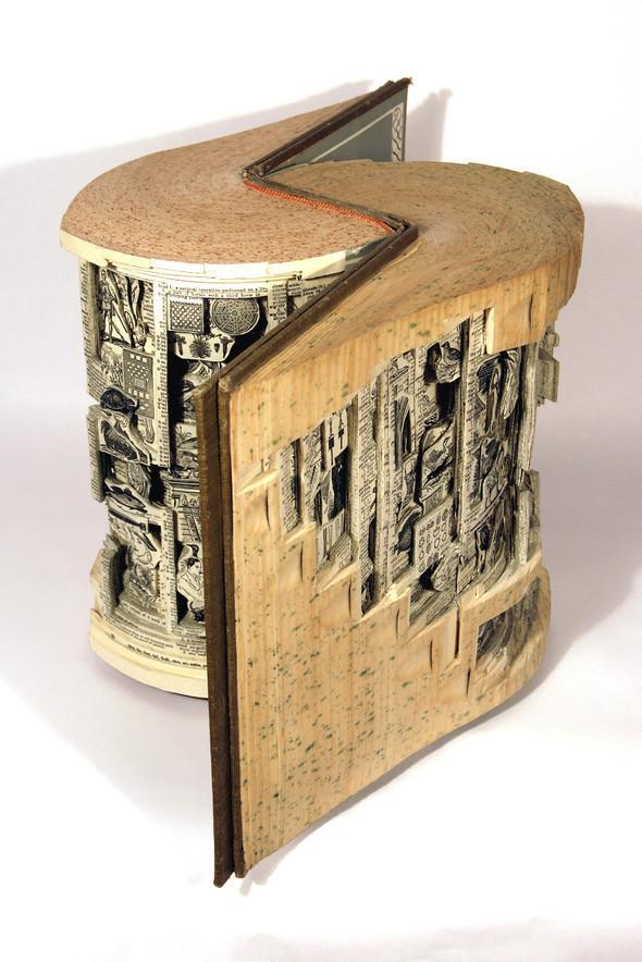 Book carving отБрайана Деттмера [Brian Dettmer]. Изображение № 1.
