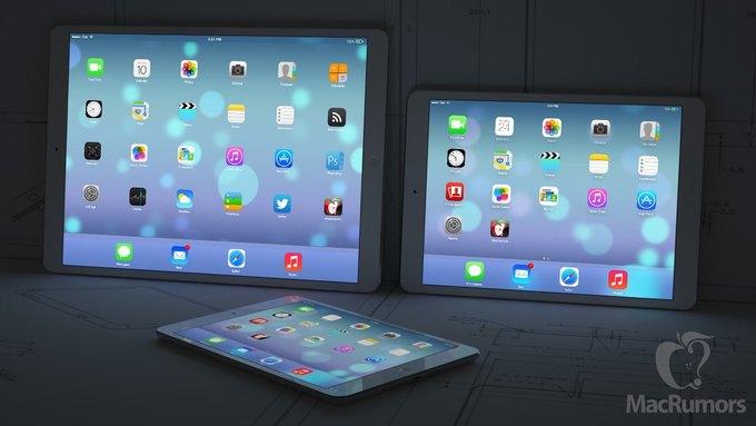 Визуализация 12,9-дюймового iPad авторства бюро CiccareseDesign. Изображение № 2.