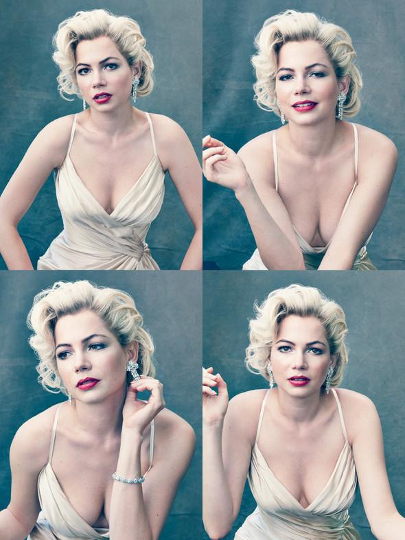 Съёмка: Мишель Уильямс для Vogue. Изображение № 6.