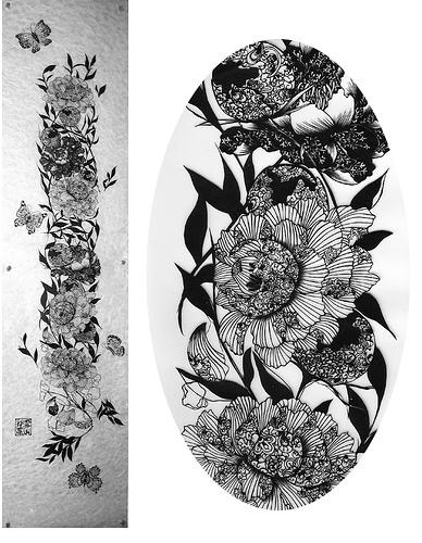 Вырезанные избумаги картины – Hina Aoyama. Изображение № 15.
