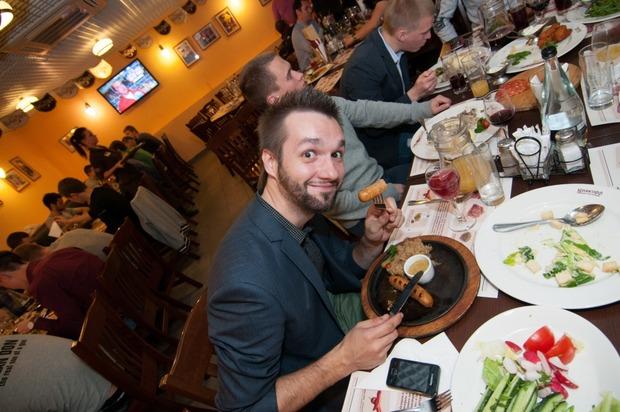 """Андрей Тихонов отпраздновал день рождения в ресторане """"Колбасофф"""". Изображение № 13."""
