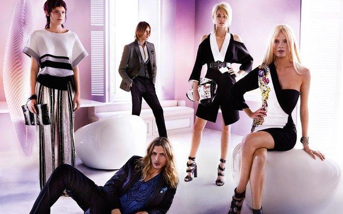 Alexander McQueen, Celine и LUBLU Kira Plastinina показали новые кампании. Изображение № 8.