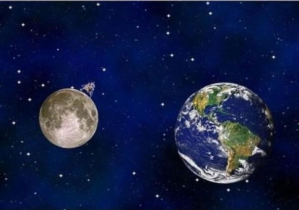 """Комикс """"Земля и Луна"""". Изображение № 9."""