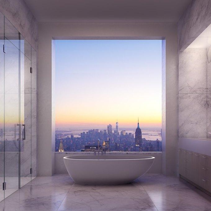 Фото дня: вид с самого высокого жилого здания Нью-Йорка. Изображение № 4.