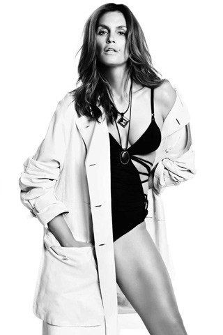 Cindy Crawford, Vogue Spain July 2009. Изображение № 11.