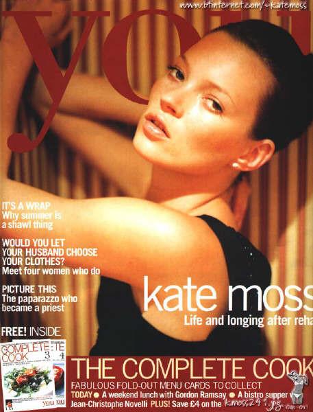 Кейт Мосс, наобложках главных модных журналов планеты. Изображение № 13.