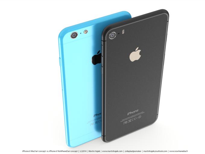 Дизайнер создал концепты iPhone 6s и 6c на основе «слива» из японского журнала. Изображение № 10.