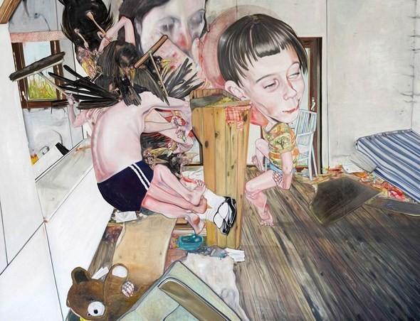 """""""Искусство расширенного сознания"""" в полотнах швейцарского художника. Изображение № 1."""