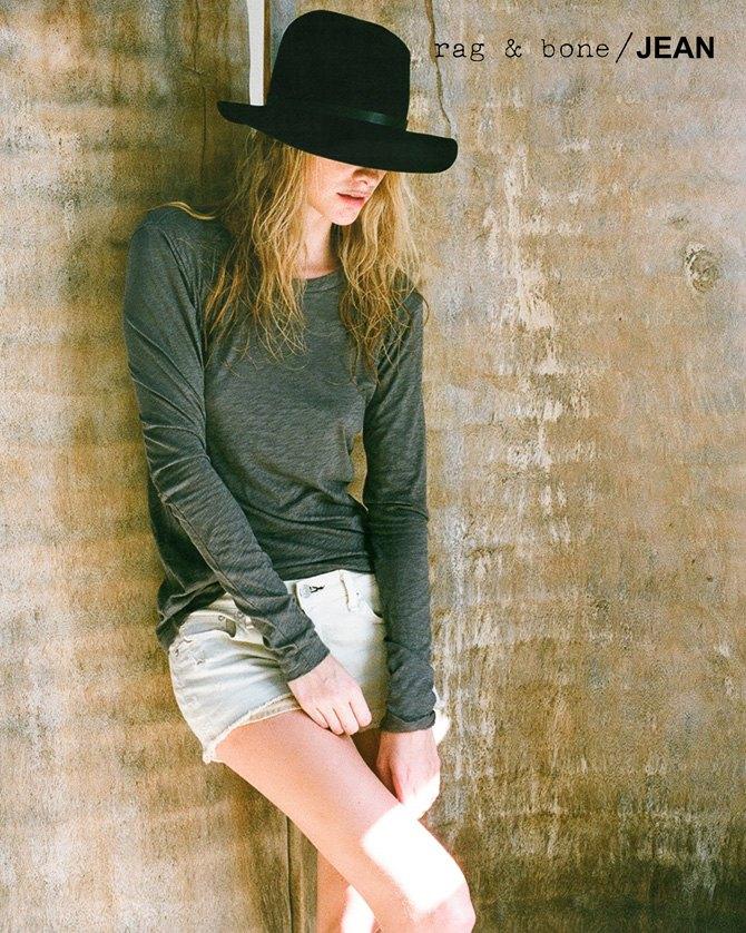 Камила Роу сняла Поппи Делевинь для Rag & Bone. Изображение № 1.