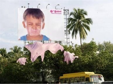 Гениальная outdoor-реклама. Изображение № 1.