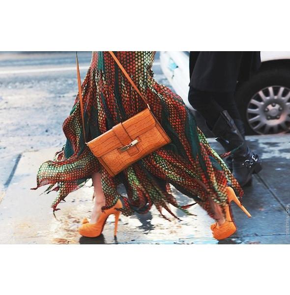 Изображение 169. На полях: 10 тенденций уличного стиля с прошедших недель моды.. Изображение № 169.