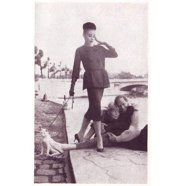 Архивная съёмка: Одри Хепберн для Harper's Bazaar, 1959. Изображение № 11.