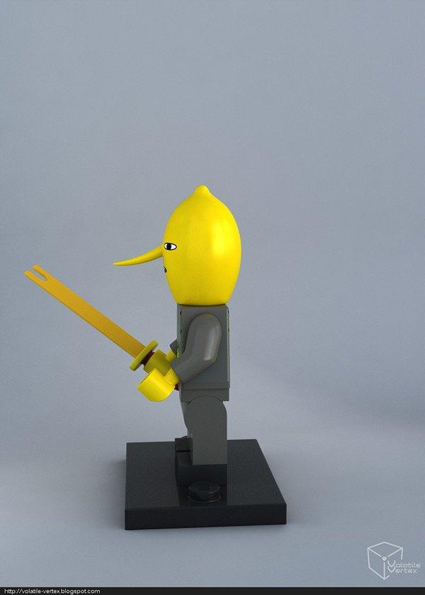 Концепт: персонажи Adventure Time в LEGO. Изображение № 8.