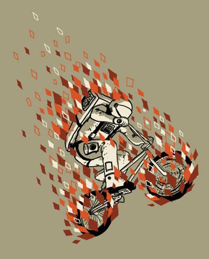 Крис Торнли люди, животные имотоциклы. Изображение № 14.